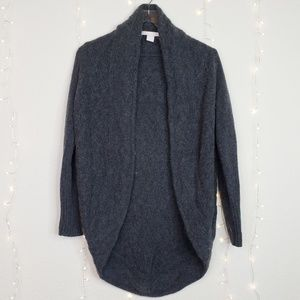 The Cashmere Project |  Gray Cashmere Cardigan  S